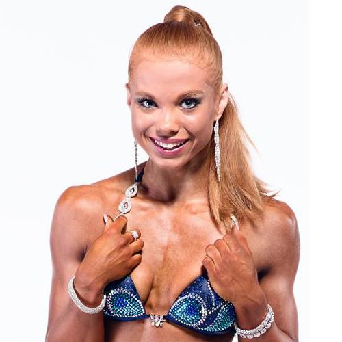 Franziska Lohberger IFBB Bikini Fitness